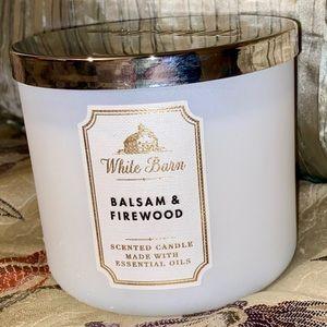 Balsam & Firewood Candle